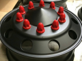 Satin Black Wheels_Red Lugs_Intuitive Powder Coating NJ.PNG