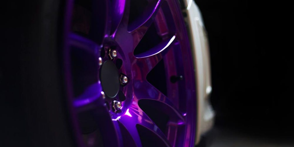 Candy Purple Wheels Intuitive Powder Coating NJ